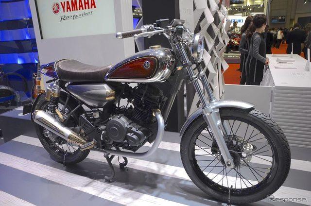 画像: 【東京モーターショー15】音色を奏でそうなバイク、ヤマハ レゾネーター125
