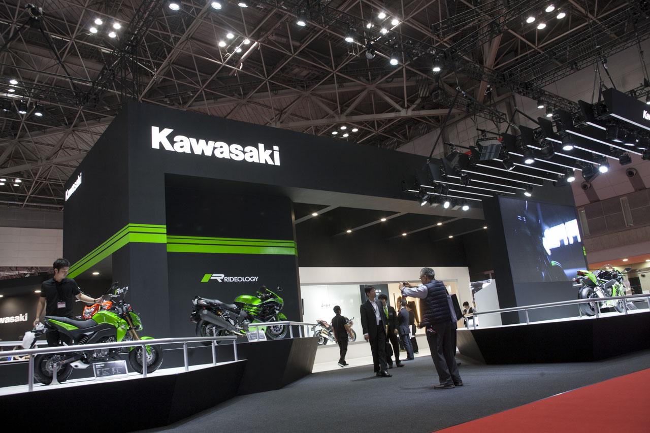 画像3: 【東京モーターショー2015】実は34年ぶりのモーターショーなのです「Kawasaki 編」