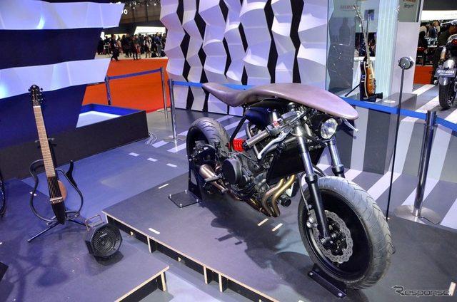 画像: 【東京モーターショー15】「ヤマハ」ならでは、バイクや電動自転車が楽器と融合