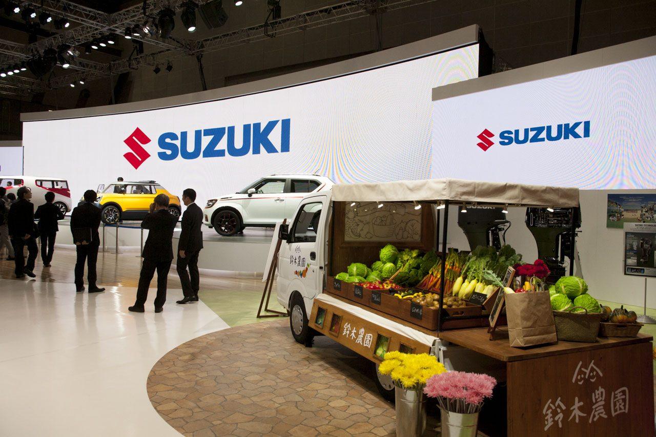 画像6: 【東京モーターショー2015】実は34年ぶりのモーターショーなのです「SUZUKI 編」