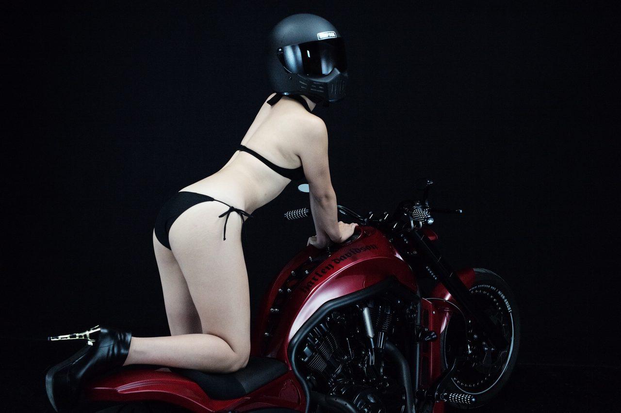 画像2: グラビア【ヘルメット女子】SEASON-XII 004 feat. BADLAND