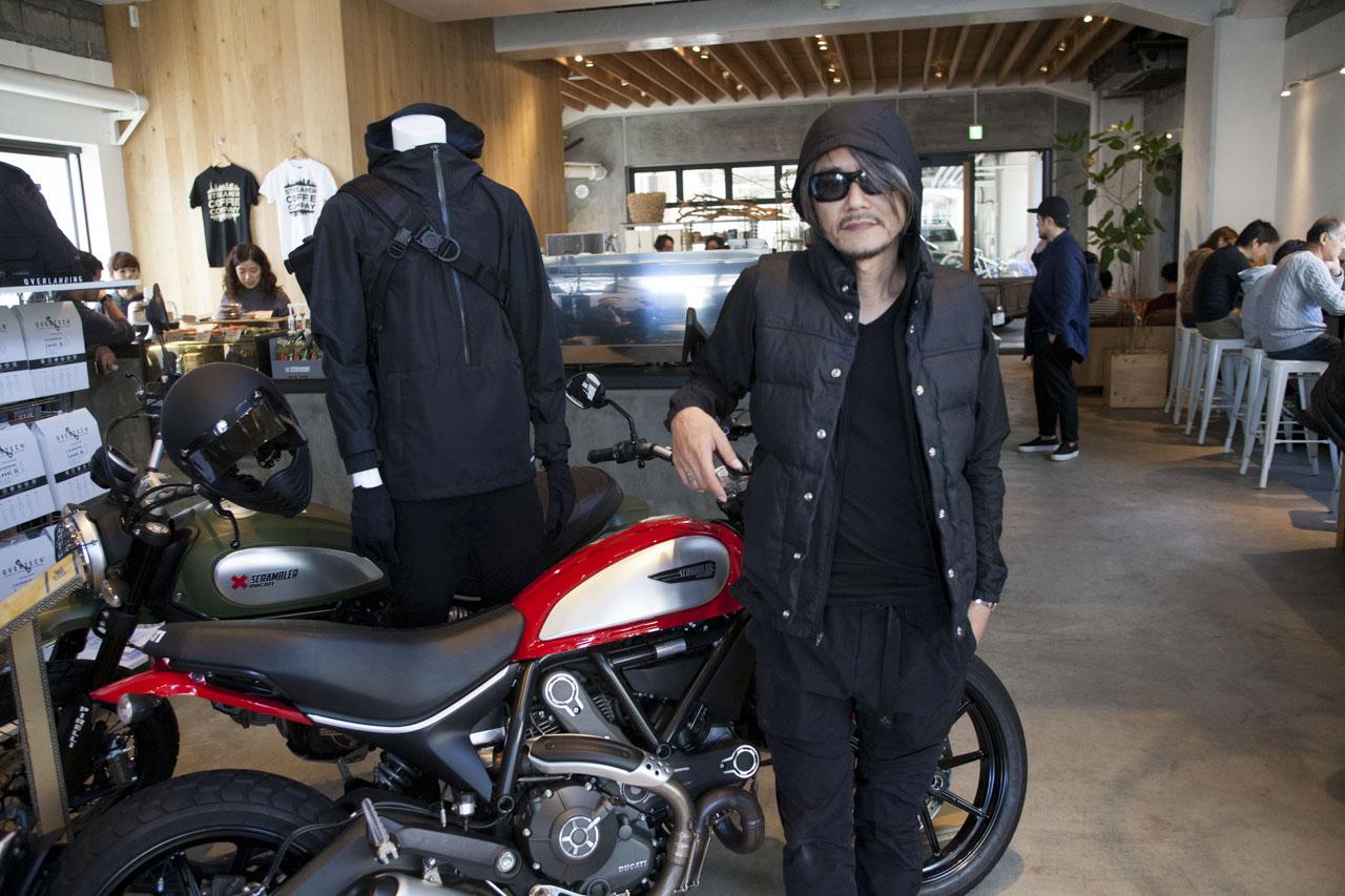 画像: 展示会ではドゥカティ スクランブラーがポップアップに参加していた