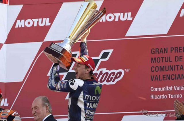 画像: 【MotoGP 最終戦】ペドロサ、通算5回目の世界チャンピオン獲得...ロッシはペナルティが響く