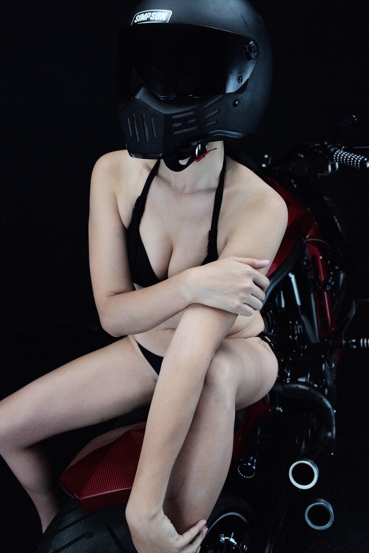 画像5: 深夜のグラビア【ヘルメット女子】SEASON-XII 013 feat.012