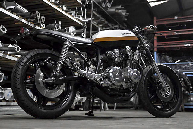 画像: Honda CB900 – Bullitt Garage