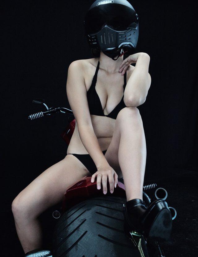 画像3: 深夜のグラビア【ヘルメット女子】SEASON-XII 013 feat.012