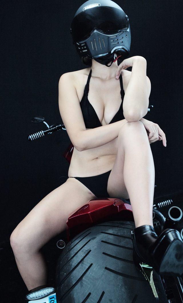 画像4: 深夜のグラビア【ヘルメット女子】SEASON-XII 013 feat.012