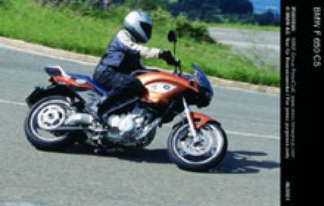 画像: Motorcycle [BMW F650 CS]