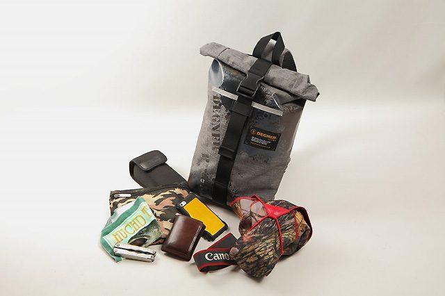 画像: デグナーからワンショルダー防水バッグ新発売