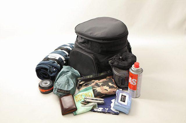 画像: 日帰り~1泊ツーリングに最適なデグナーシートバッグ