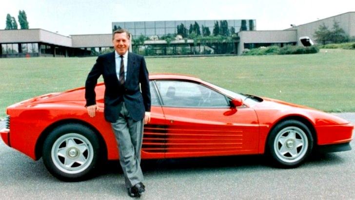 画像: フェラーリ・テスタロッサ www.egmcartech.com