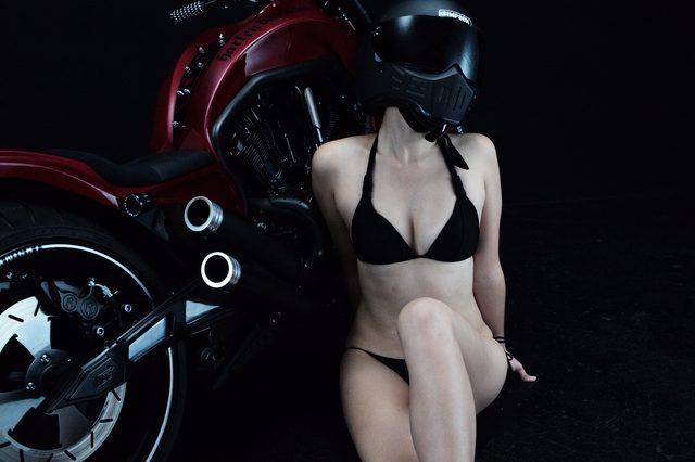 画像2: グラビア【ヘルメット女子】SEASON-XII 018  feat. BADLAND