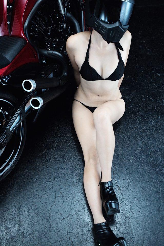 画像1: グラビア【ヘルメット女子】SEASON-XII 018  feat. BADLAND
