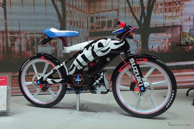 画像: 【東京モーターショー15】スズキ フィール フリー ゴー!...気軽に乗れる50cc原付クロスバイク[詳細画像]