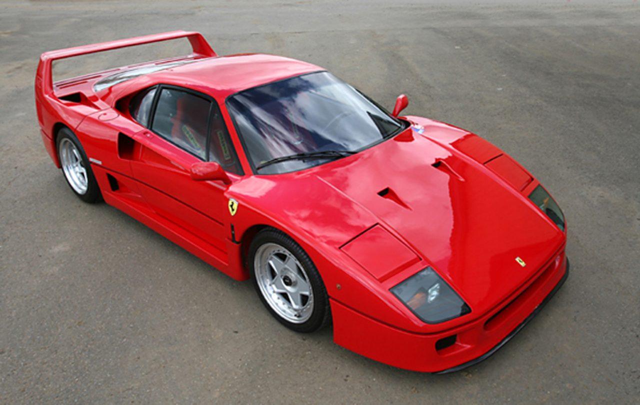 画像: フェラーリ・F40 www.kidston.com