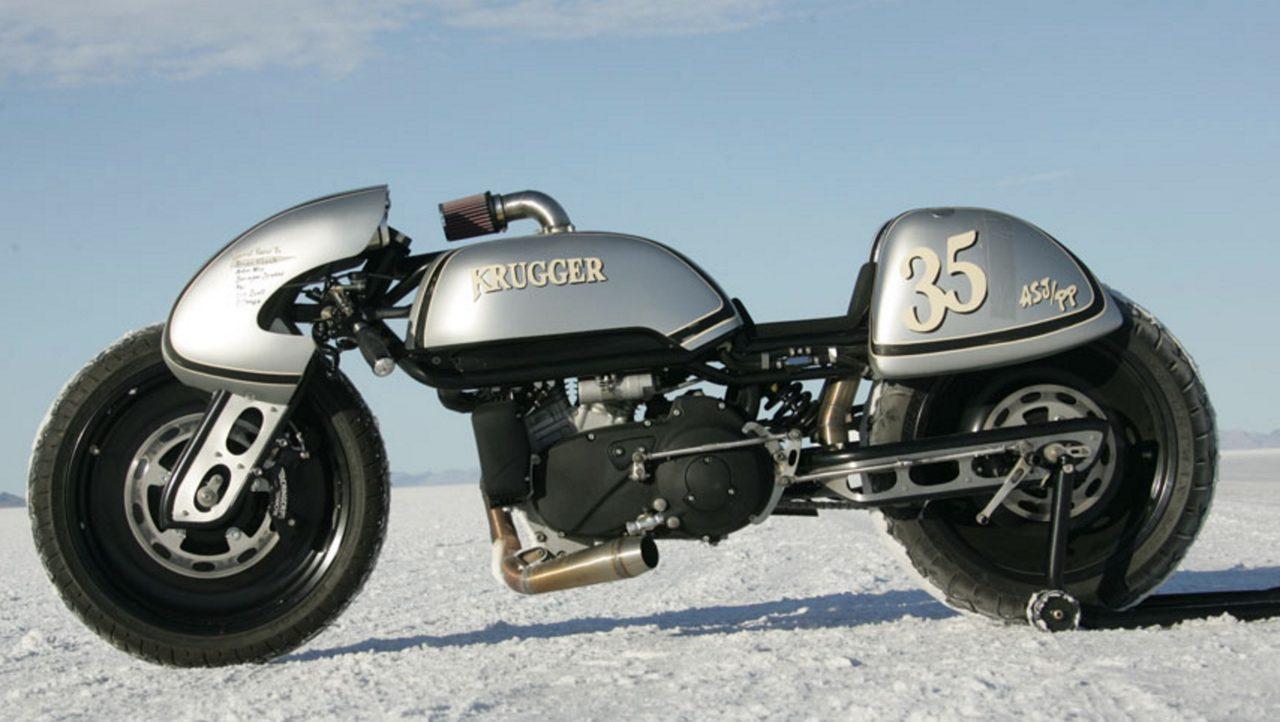 画像: 金田バイクにも近い、不思議な形状。未来的! www.krugger.net