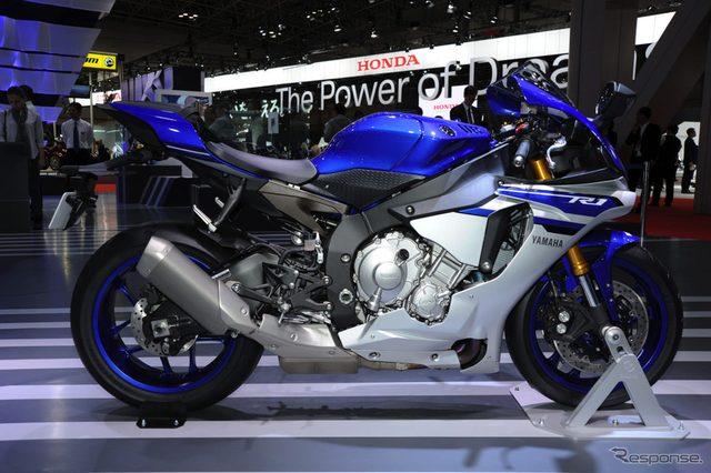 画像: 【東京モーターショー15】ヤマハ YZF-R1...MotoGPの走りを市販車で再現[詳細画像]