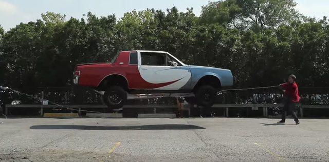 画像: 衝撃映像!車が縄跳びに挑戦!!