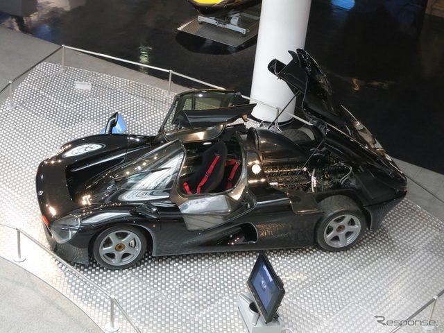 画像: ヤマハ、企業ミュージアムに「幻のスーパーカー」展示