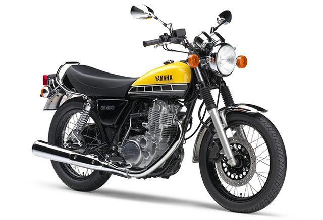 画像: [ニュースリリース]ヤマハ発動機創業60周年記念カラーモデル 「SR400」60th Anniversary限定発売