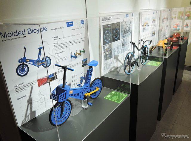 画像: 樹脂で作る「車輪付きプロダクト」の可能性を探る...多摩美とBASFの産学協同プロジェクト