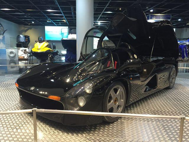 画像2: 1992年に発表されたF1エンジン搭載のスーパーカー「OX99-11」が間近でみれる大チャンス!