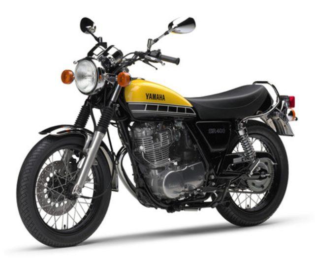 画像: 「SR400」にインターカラーの60周年モデルが登場!