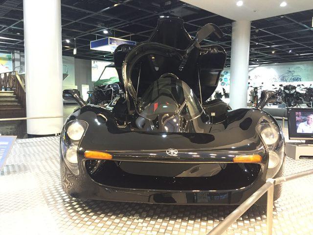 画像1: 1992年に発表されたF1エンジン搭載のスーパーカー「OX99-11」が間近でみれる大チャンス!