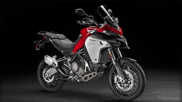 画像: ボッシュ、ドゥカティ新型バイクに油圧式パーキングブレーキ装備のABS提供