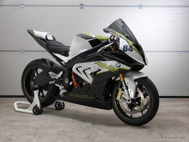 画像: BMW、電動スポーツバイク eRR を公開...見るからにレーシー