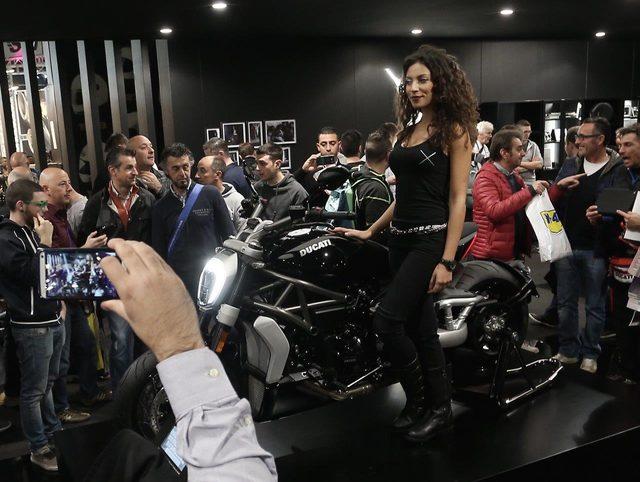 画像2: 【Best-looking Bikeに選出】ドゥカティXディアベルinミラノ国際モーターサイクルショー2015