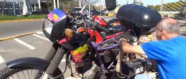 画像1: ブラジル在住のRicardo Azevedoさんが制作したエコバイク!