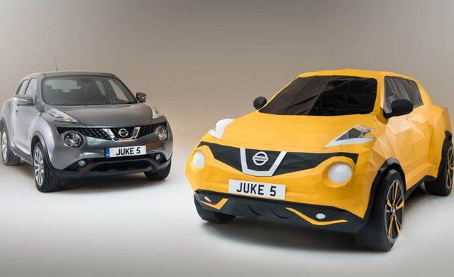 画像: Nissan Juke Origami