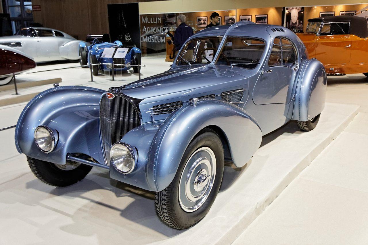 bugatti type 57sc atlantic jay leno