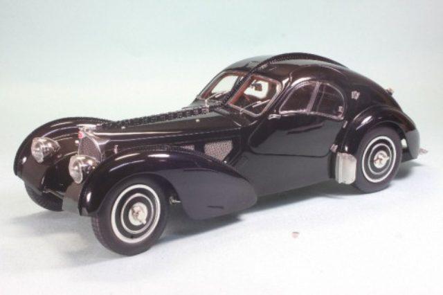 画像: 1/18 ブガッティ タイプ57 SC アトランティック 1937 ブラック 限定5000台 | シーエムシーロム