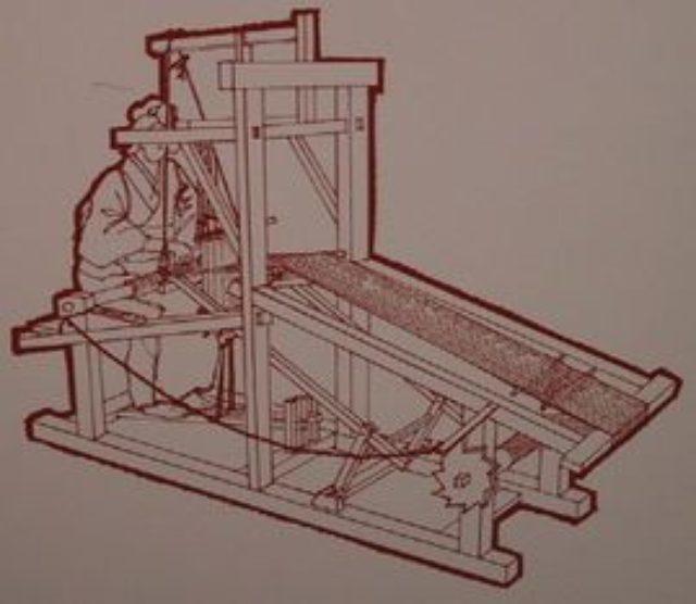 画像: 両足で操作する高機 www.geocities.jp