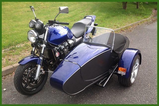 画像: HONDA CBに合わせて製作されたサイドカー。かっこいい! www.ansonclassic.co.uk