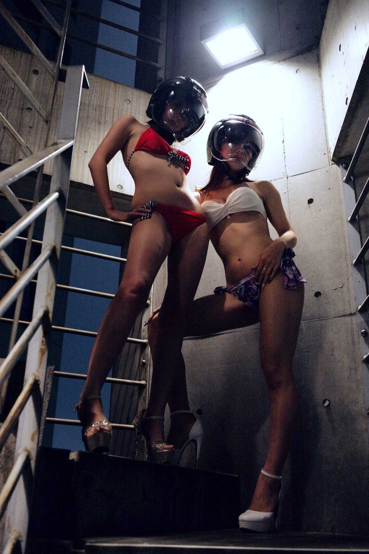 画像1: グラビア【ヘルメット女子】SEASON-XIII 013