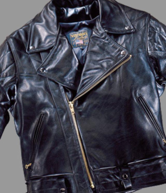 画像: VansonのトラディショナルなUSモデル www.vansonleathers.com
