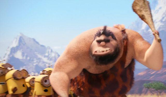 画像: 強靭な原始人は巨大熊に食われてしまい minions.jp