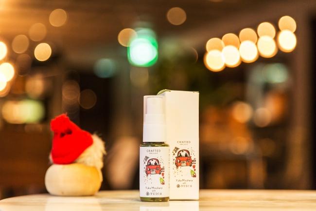 画像: yuica:Room Spray(2,600円) ワクワクする香りを放つ、100%天然由来のルームスプレー。 クリスマス特別アイテム「クリスマスに大切な人へ贈りたい香り」も20個限定販売(12/5~)