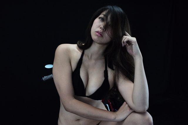画像3: 【特別グラビア企画】美女と野獣あるいはカスタムハーレー 028 by LAWRENCE x BADLAND