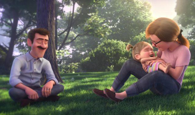 画像: 仲の良い夫婦の間に生まれたライリー www.disney.co.jp