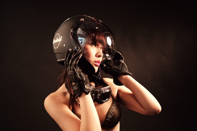 画像4: グラビア【ヘルメット女子】SEASON-XIV 003