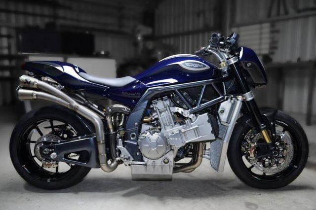 画像: The PGM 2.0 Litre V8 motorcycle | The iconic V8, reborn as an authentic motorcycle engine.