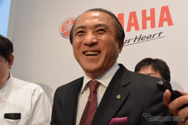 画像: ヤマハ柳社長「「2007年よりも力は上がっているという評価をして良い」