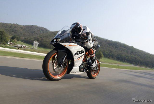 画像: 【KTM RC250 試乗】ライバル凌ぐ本格装備でスポーツライディングを気軽に...青木タカオ