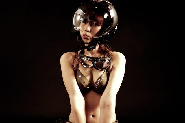 画像2: グラビア【ヘルメット女子】SEASON-XIV 004