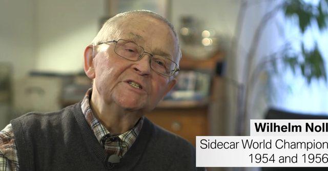 画像: 実は、サイドカーレースの往年のチャンピオン、ウィルヘルム・ノルさん