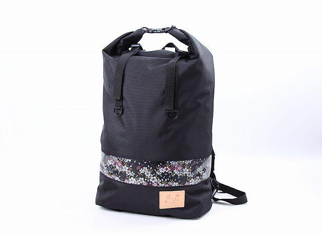 画像: デグナーの和柄ブランド「花山」に防水バッグが登場